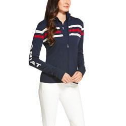 Ariat - Womens Team Full Zip Sweater Sweater