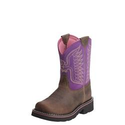 Ariat - Unisex-Child Fatbaby Thunderbird Fatbaby Western Shoes
