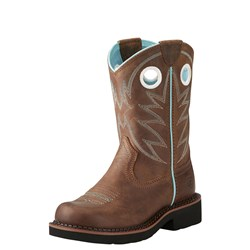 Ariat - Unisex-Child Probaby Fatbaby Western Shoes