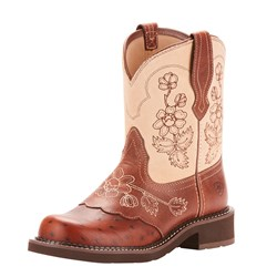 Ariat - Womens Fatbaby Heritage Viola Fatbaby Western Shoes