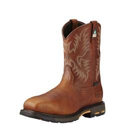 Ariat - Mens Workhog Csa H2O Comp Toe Western Work Shoes