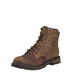 "Ariat - Mens Groundbreaker 6"" Industrial Work Shoes"