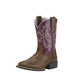 Ariat - Unisex-Child Tombstone Western Western Shoes