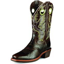 Ariat - Mens Heritage Roughstock Working Cowboy Western Shoes