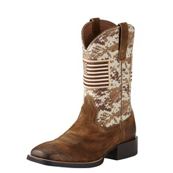 Ariat - Mens Sport Patriot Western Western Shoes