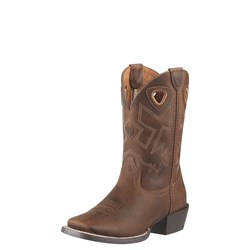 Ariat - Unisex-Child Charger Western Western Shoes