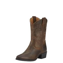 Ariat - Unisex-Child Heritage  R Toe Western Western Shoes