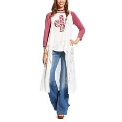 Ariat - Womens Just Because Vest Egret