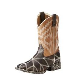 Ariat - Youth Phantom Tycoon Drk Java/Lght Saddle Shoes