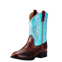 Ariat - Youth Hrtg Hackamore Fiddle Brn/Malibu Shoes