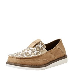 Ariat - Youth Cruiser Drty Tpe Sde/Sparkln Leoprd Shoes