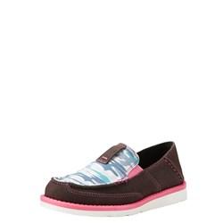 Ariat - Youth Cruiser Agd Cfe Sde/Sky Camo Prnt Shoes