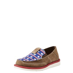 Ariat - Youth Cruiser Dirty Tan Sde/Strs Strps Shoes