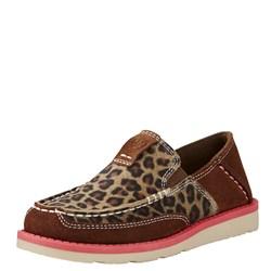 Ariat - Youth Cruiser Light Earth/Cheetah Shoes
