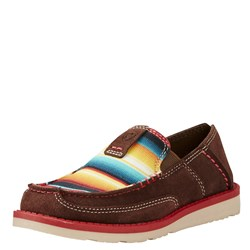 Ariat - Youth Cruiser Palm Brn/Serape Shoes