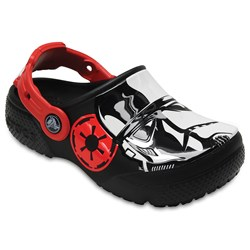 Crocs - Unisex-Child Kids' Fun Lab Stormtrooper Clog Shoes