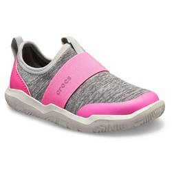 Crocs - Unisex KidsSwiftwater Easy-On Heathered Shoe