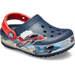 Crocs - Unisex Kids Fun Lab Jets Band Lights Clog
