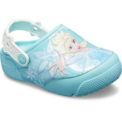 Crocs - Girls Fun Lab Frozen Elsa Lights Clog