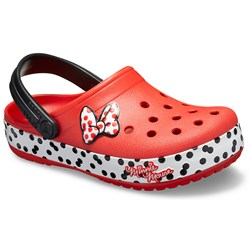 Crocs - Girls Fun Lab Minnie Rocks The Dots Clog