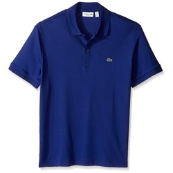 Lacoste Men's Short Sleeve Jersey Interlock Regular Woven Shirt