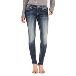 Miss Me - Womens M3228S Jeans Mid-Rise Skinny Jeans