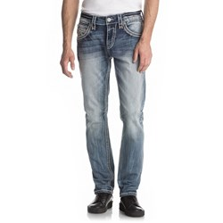 Rock Revival - Mens Migwel A204 Alternative Straight Jeans