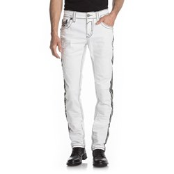 Rock Revival - Mens Barrett A6 Alternative Straight Jeans