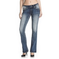 Rock Revival - Womens Beliss B209 Boot Leg Jeans