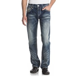 Rock Revival - Mens Raine J206 Straight Leg Jeans