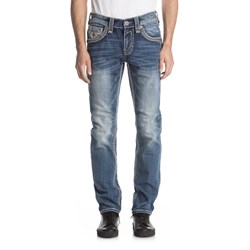 Rock Revival - Mens Ismael A203 Alternative Straight Jeans