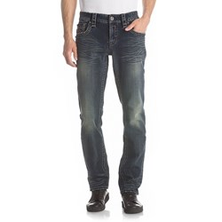 Rock Revival - Mens Noah A5 Alternative Straight Jeans