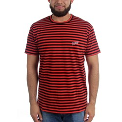 10 Deep - Mens Sound & Fury Stripe T-Shirt