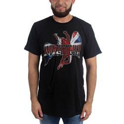 Led Zeppelin - Mens   Icarus Flag T-shirt