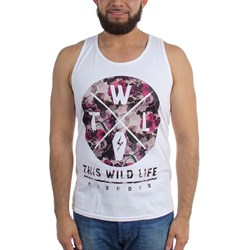 This Wild Life - Mens Floral Tank Top
