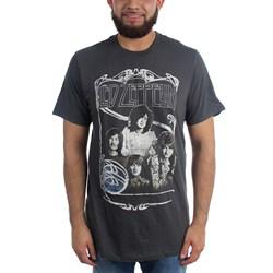 Led Zeppelin - Mens Good Times Bad Times T-Shirt in Black