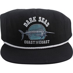 Dark Seas - Mens Black Jack Hat