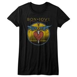 Bon Jovi - Juniors Bad Name T-Shirt