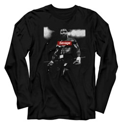 Mike Tyson - Mens Savage Long Sleeve T-Shirt