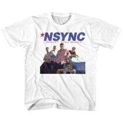 Nsync - unisex-baby Want You Back T-Shirt