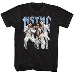 Nsync - Mens Strike A Pose T-Shirt