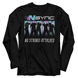 Nsync - Mens Blue Purple Long Sleeve T-Shirt