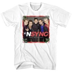Nsync - Mens Home For Christmas T-Shirt