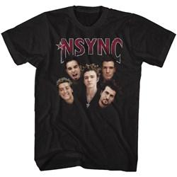 Nsync - Mens Group Shot T-Shirt