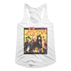 Poison - womens Bbright Box Racerback Tank Top