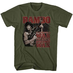 Rambo - Mens Become War T-Shirt