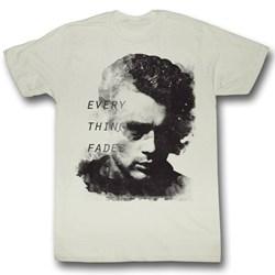James Dean - Mens Everything Fades T-Shirt