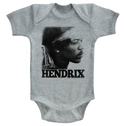Jimi Hendrix - unisex-baby Vintage Face Onesie
