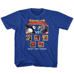 Kung Fu Panda - unisex-child Versus T-Shirt