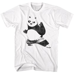 Kung Fu Panda - Mens Strike A Pose T-Shirt